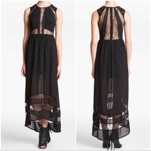 •ASTR• Nordstrom Lace Inset Sleeveless Maxi Dress